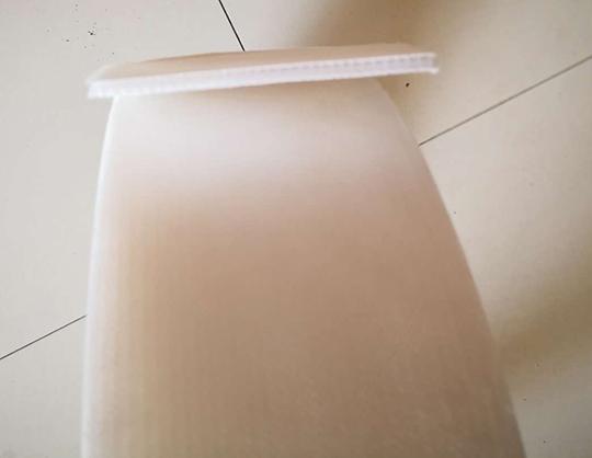 新型热熔整体式塑料排水板